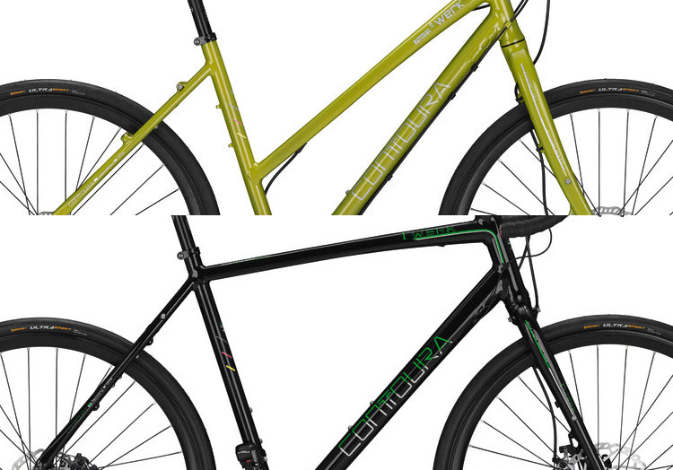 Rahmenform Sportrad