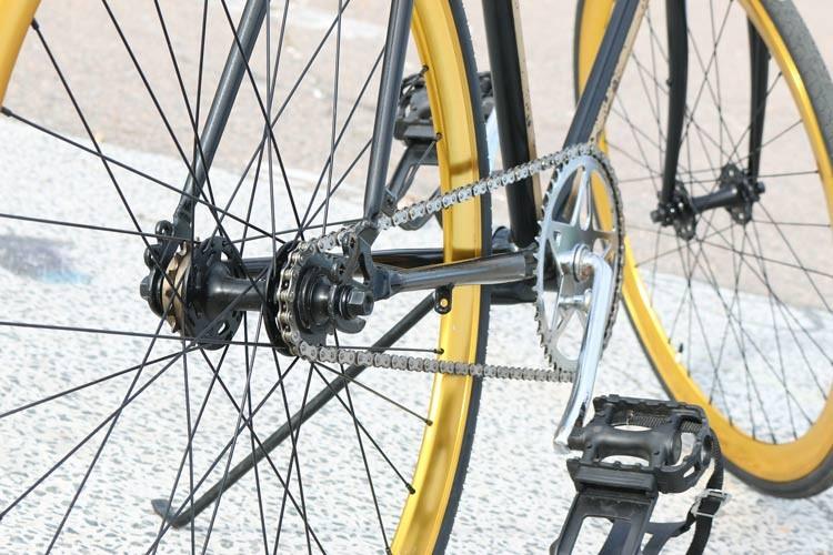 Ausstattung von Singlespeed-Bikes