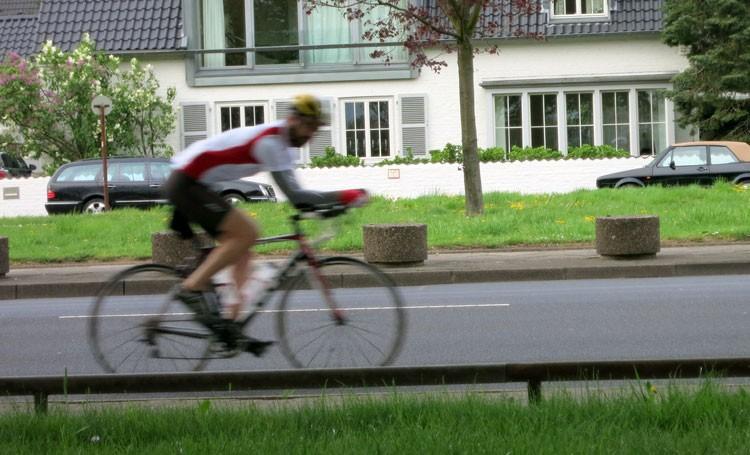 Körperhaltung Rennrad