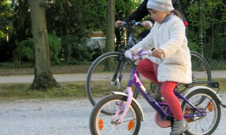 radfahren lernen Kinderrad