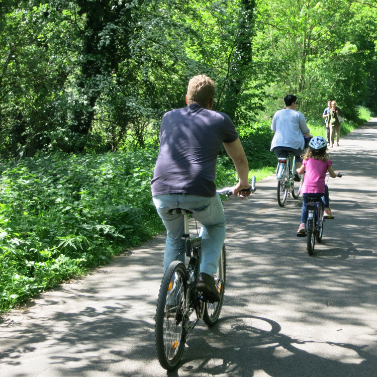 Fahrradhändler und Kunde