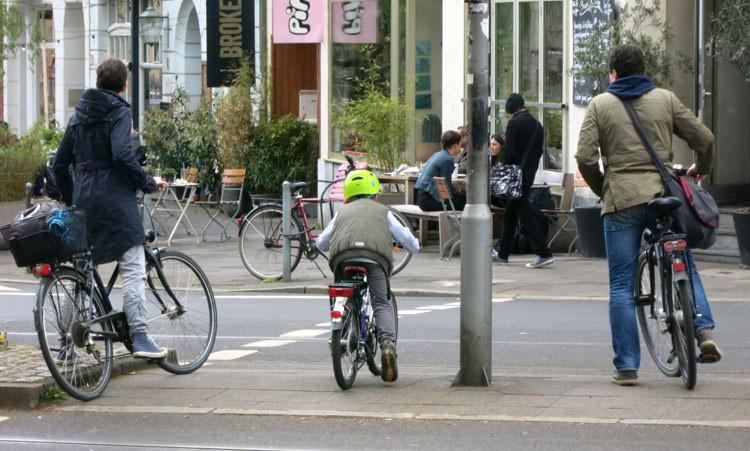 Kinderrad im Straßenverkehr