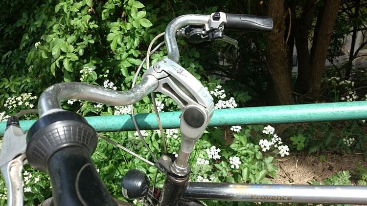 detail Lenker Citybike