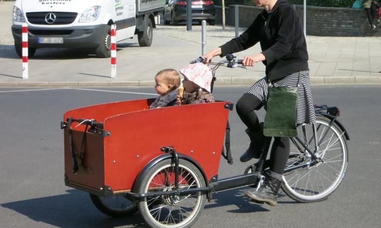 Lastenrad statt Kindersitz