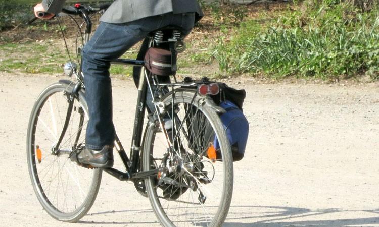 Trekkingbike mit Kettenschaltung