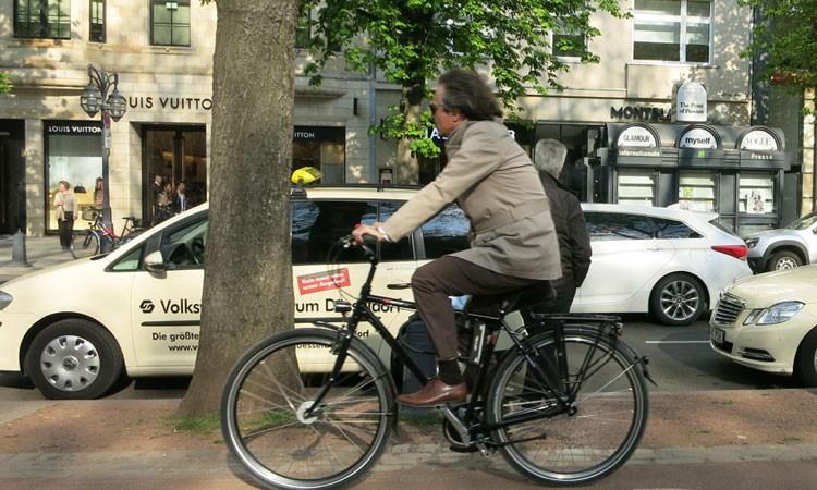 Tourenrad mit Nabenschaltung