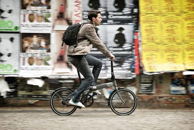Faltrad die Alternative im Alltag