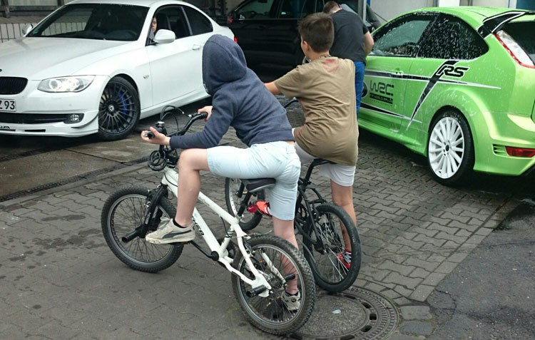 BMX coole Jungens