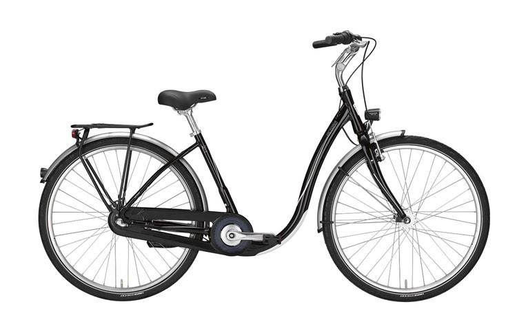 Citybike mit tiefem Einstieg