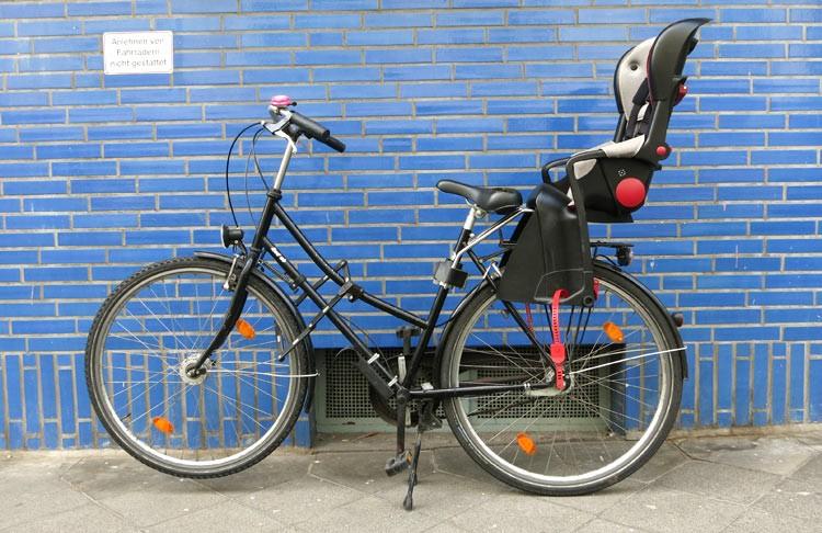 citybike mit kindersitz