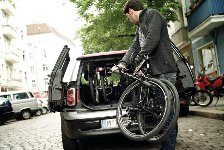 Faltrad Autokofferraum