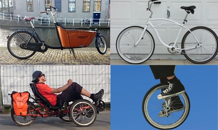 besondere Fahrräder