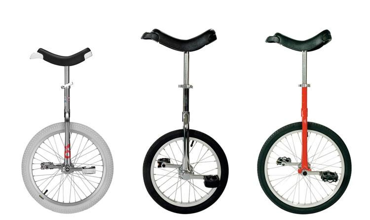 Einräder in Vergleich