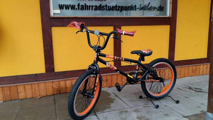 bmx bike neu kaufen in pasewalk fahrrad. Black Bedroom Furniture Sets. Home Design Ideas